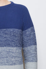 Load image into Gallery viewer, Gradient Sweater blue