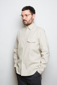 Kent Collar Shirt sand
