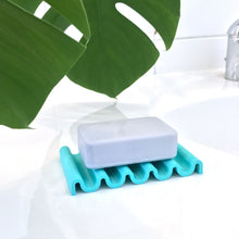 Load image into Gallery viewer, Seifenschale aus recyceltem PET / recycled PET soap dish river onda