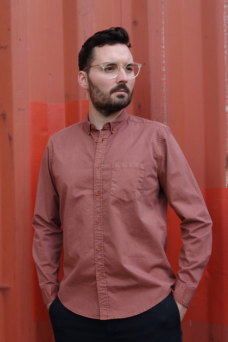 Garment Dye Shirt rust