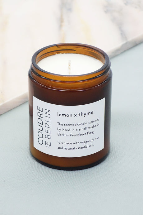 lemon x thyme / ESSENTIALS Scented Candle