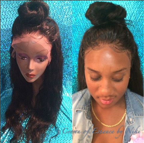 Provide Your Own Hair: Lace Frontal Full Wig - Beautique Online Store