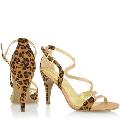 Leopard Metallic Shoe - Beautique Online Store