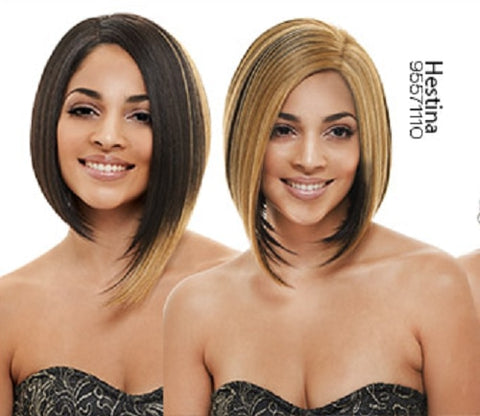 Synthetic Lace Front Wig W-Part(Dual) Lace Hestina - Beautique Online Store