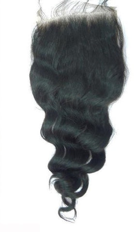 100% Virgin Hair Loose Wave Closure - Beautique Online Store