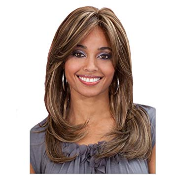 Mocha Synthetic Lace Front Wig - Beautique Online Store