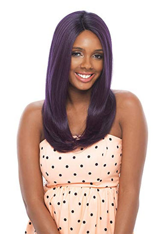 Olga Synthetic Hair Lace Front Wig Invisible Deep Part Lace - Beautique Online Store