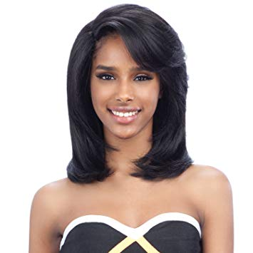 Rex  Synthetic Hair Wig Extreme L Part