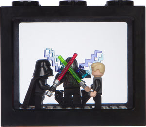 Brick Shield Display for Mini Figures - Blocks, Toys, Models, Bricks Display Case for Minifiuges