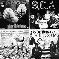 "Teen Idles, S.O.A., Government Issue & Youth Brigade - Four Old 7""s"