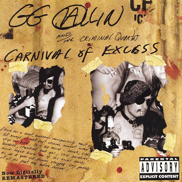 Allin, GG & The Criminal Quartet - Carnival of Excess