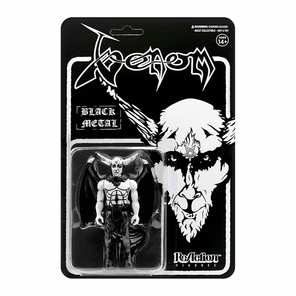 "Venom ""Black Metal"" - Reaction Toy Figure"