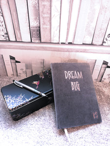 'DREAM BIG' Personalised Initial Notebook