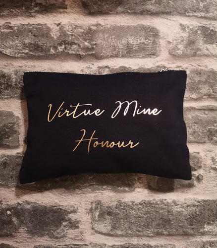 'Virtue Mine Honour' - Maclean Accessory Bag