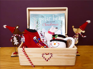 Wooden Christmas Eve Box - Personalised