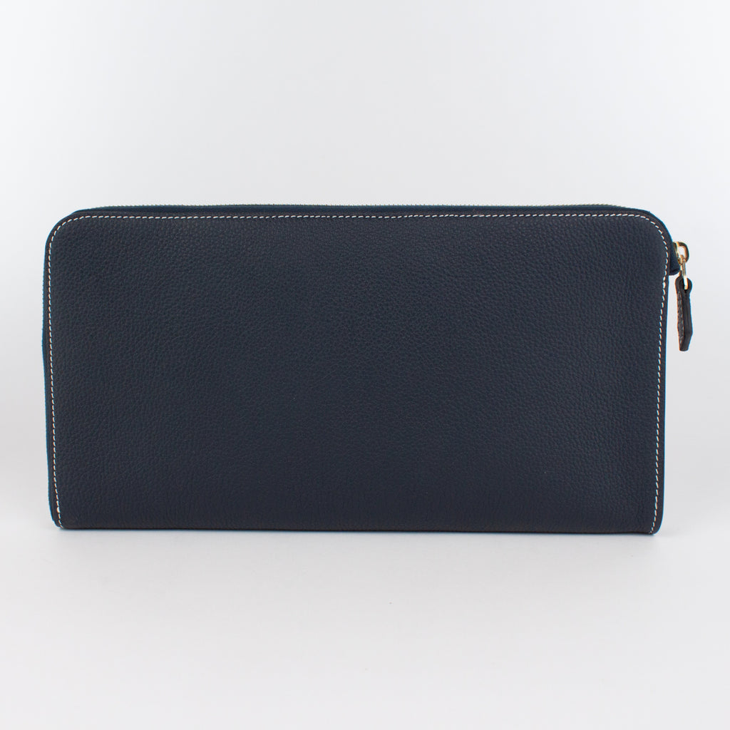 0934B LD DOCUMENT CASE Col.Navy(W)