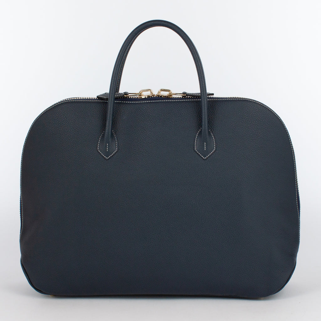 0999BZ LD ZIP BRIEFCASE Col.Navy