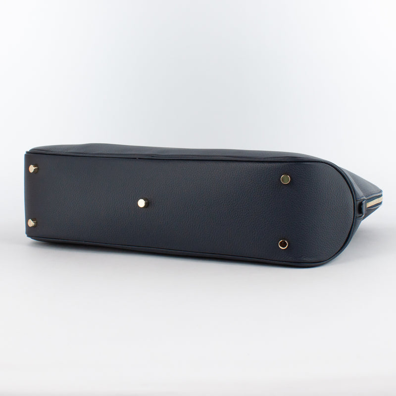 0999 LD ZIP BRIEFCASE Col.Navy