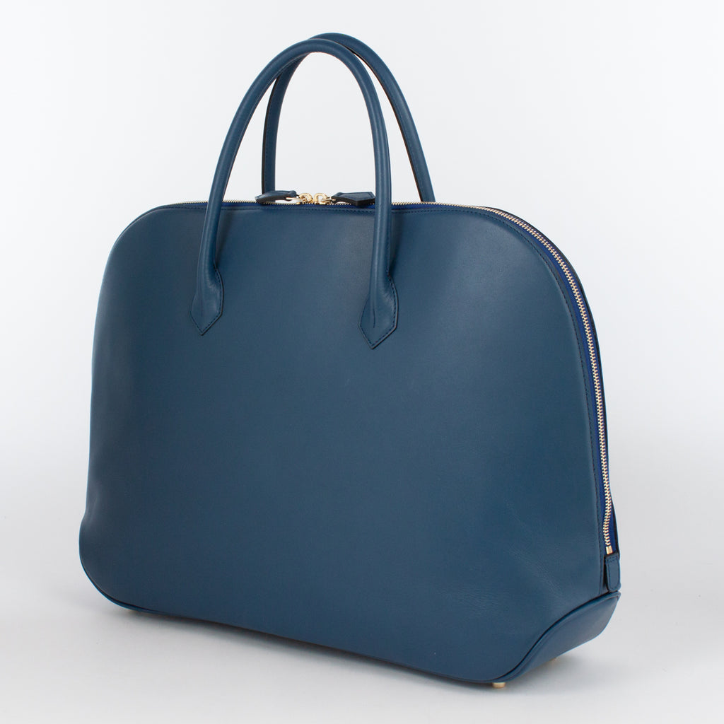 0999 LM ZIP BRIEFCASE Col.Blu