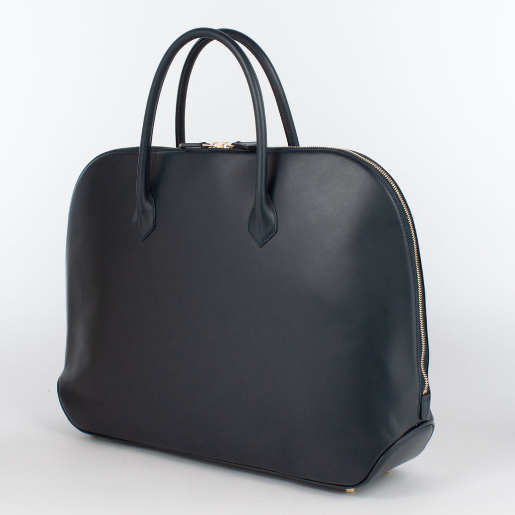 0999 LM ZIP BRIEFCASE Col.Navy