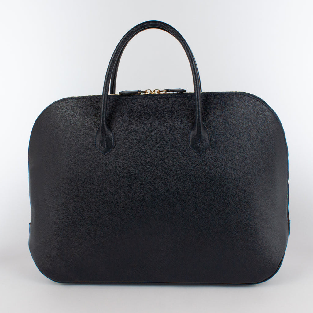 0999 MF ZIP BRIEFCASE Col.Navy