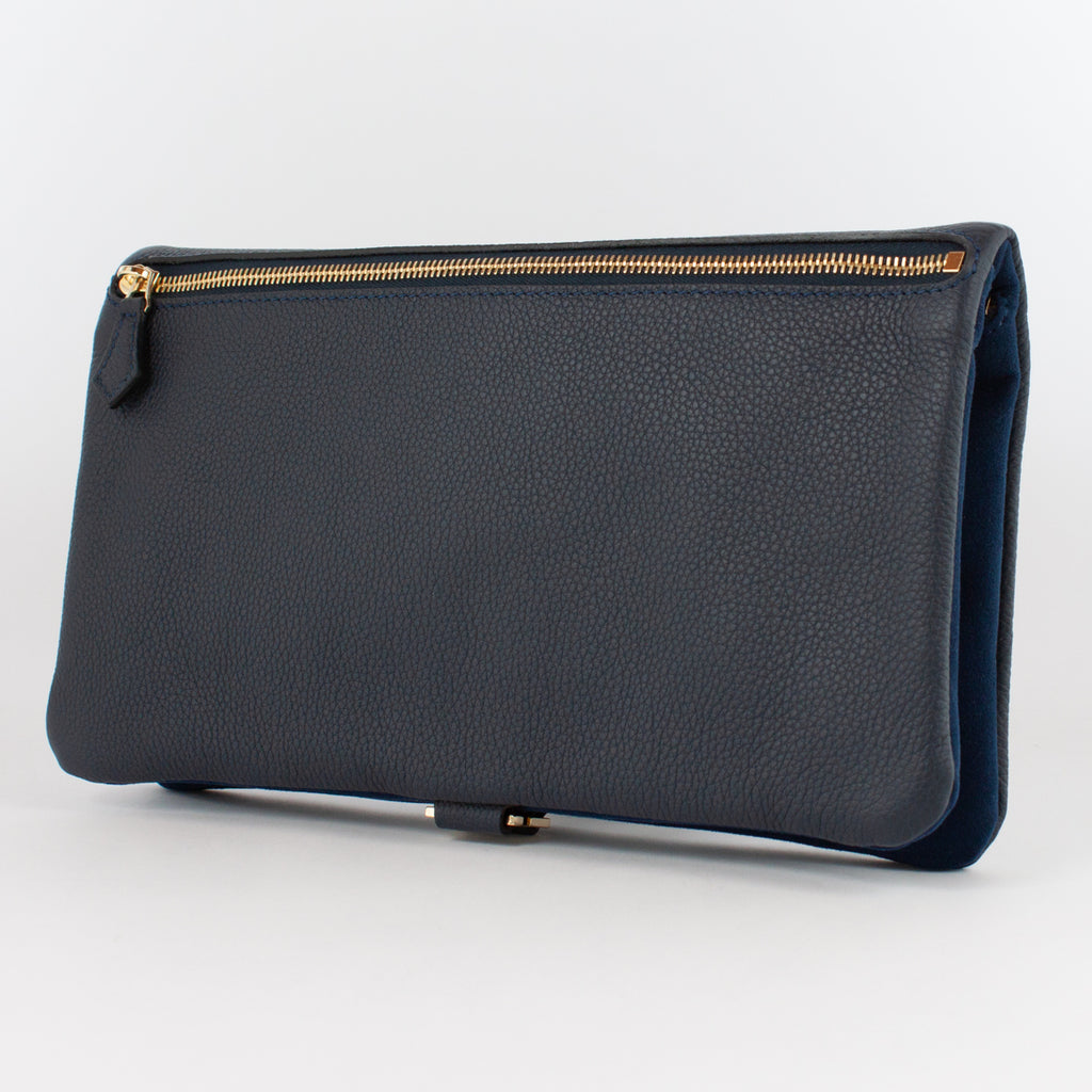 1020B AD/LD FOLDING DOCUMENT CASE Col.Navy/Navy