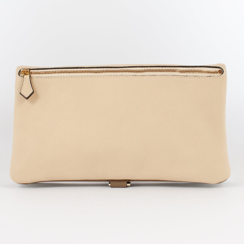 1020B LD/LD FOLDING DOCUMENT CASE Col.Kaki/Beige