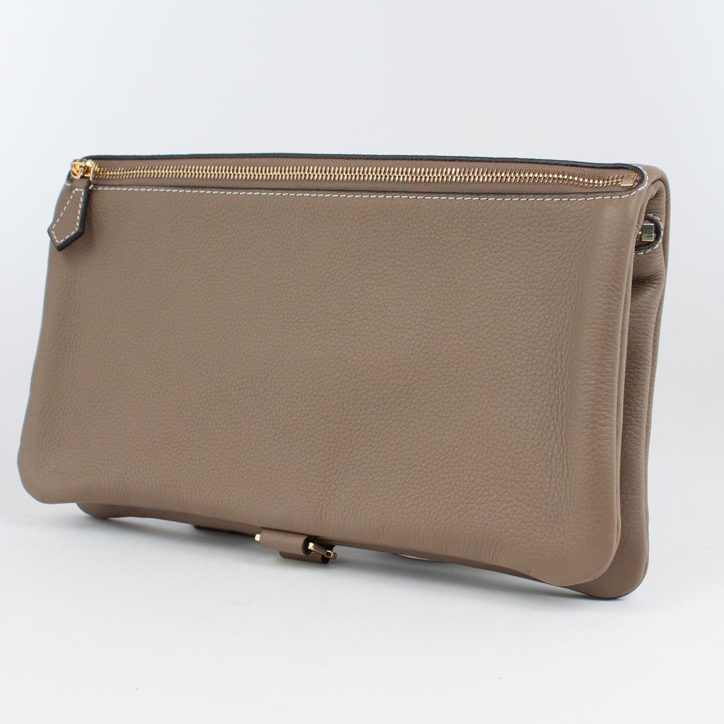1020B LD/LD FOLDING DOCUMENT CASE Col.Kaki/Kaki