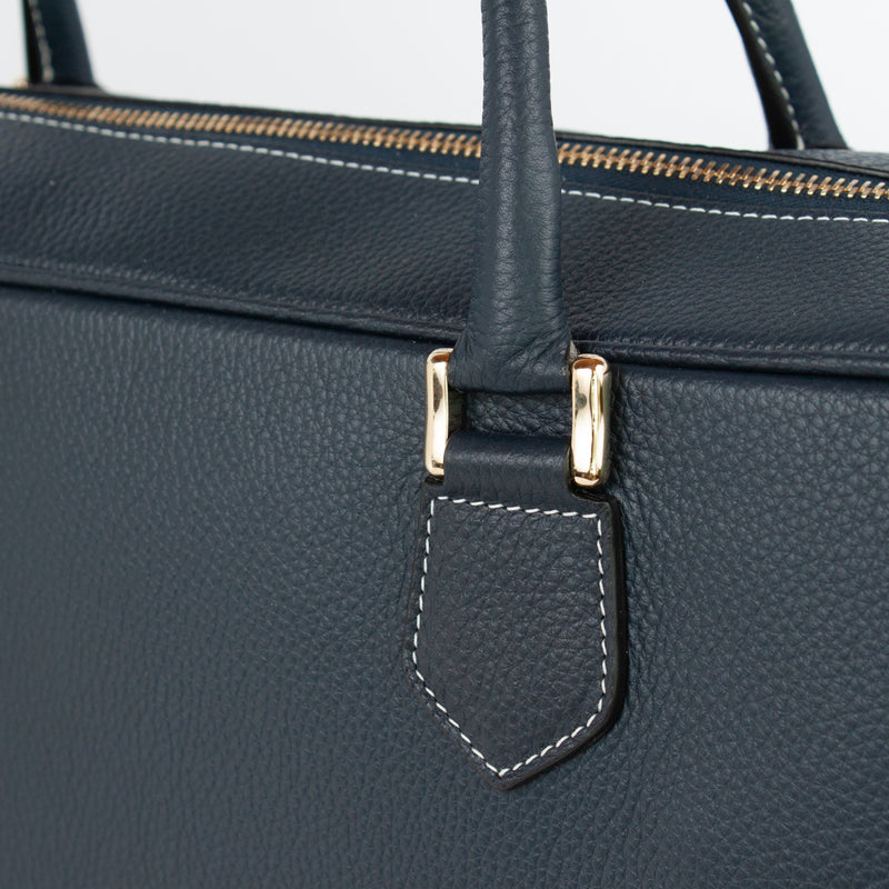 1151 LD BRIEFCASE WITH STRAP Col.Navy