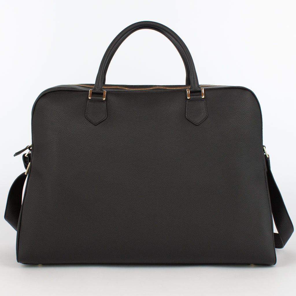 1151 LD BRIEFCASE WITH STRAP Col.Nero