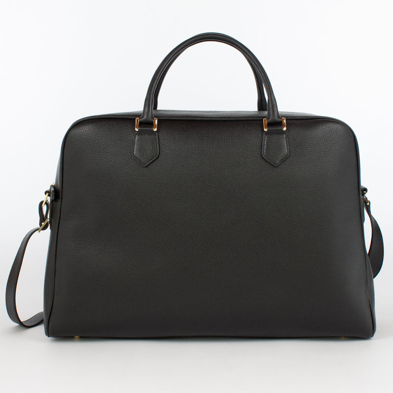 1151 mf briefcase with strap col nero cisei firenze