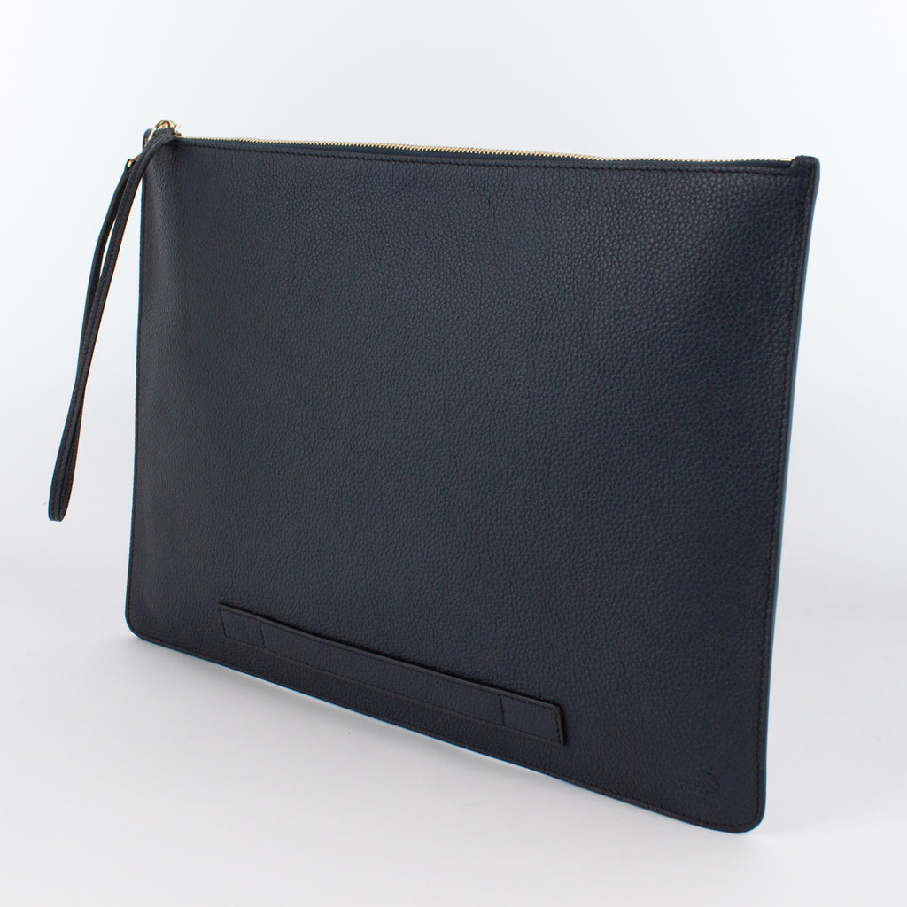 1182M LD POUCH WITH HANDLE Col.Navy