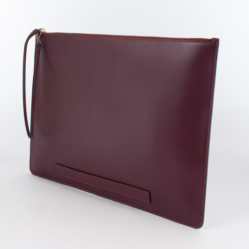 1182M LM POUCH WITH HANDLE Col.Bordeaux