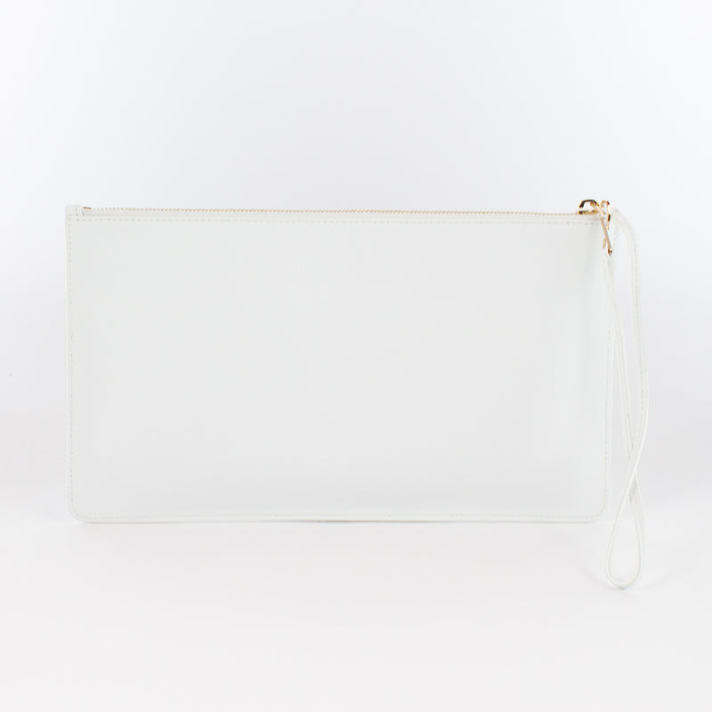 1183M LM POUCH WITH HANDLE Col.Bianco