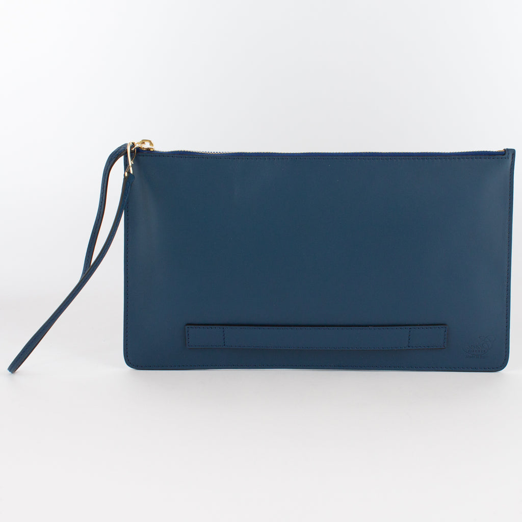 1183M LM POUCH WITH HANDLE Col.Blu