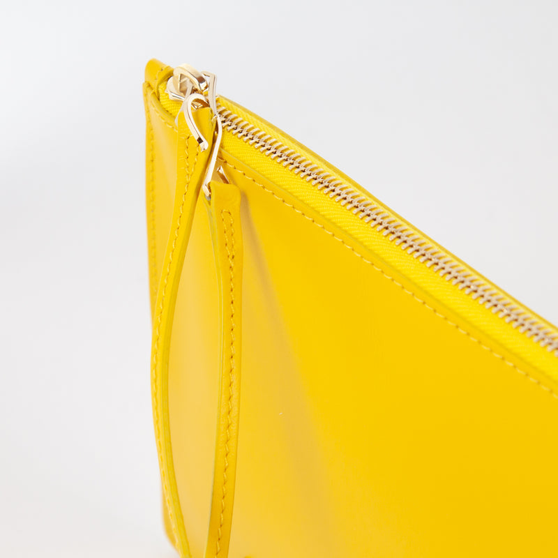 1183M LM POUCH WITH HANDLE Col.Giallo