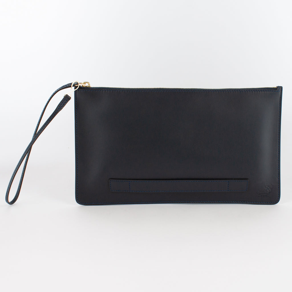 1183M LM POUCH WITH HANDLE Col.Navy