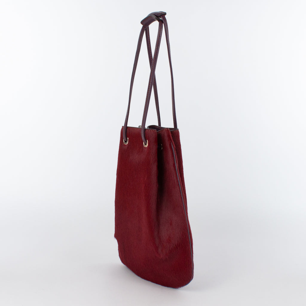 1200 CV/LM DRAWSTRING BAG-S Col.Vino/Bordeaux