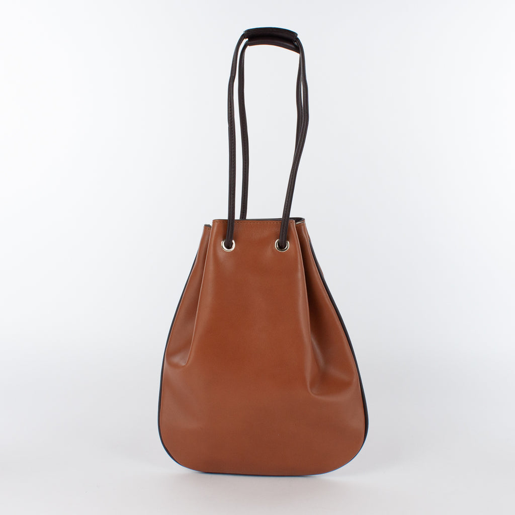 1200 LM/LM DRAWSTRING BAG-S Col.Cuoio/T.Moro