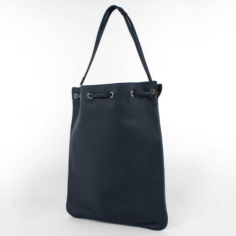 1201 LD DRAWSTRING BAG-L Col.Navy(T)