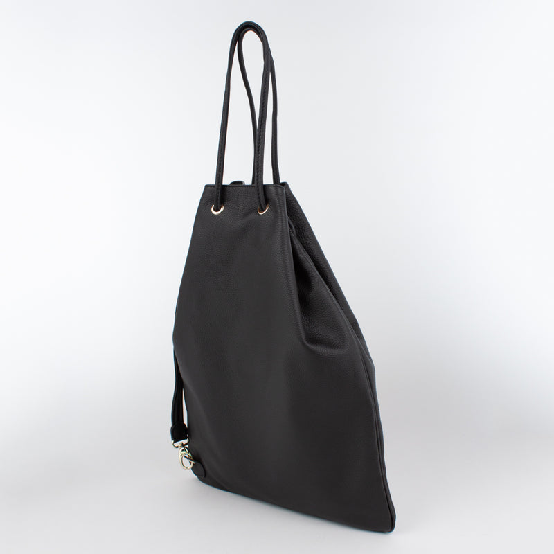 1201 LD DRAWSTRING BAG-L Col.Nero(T)