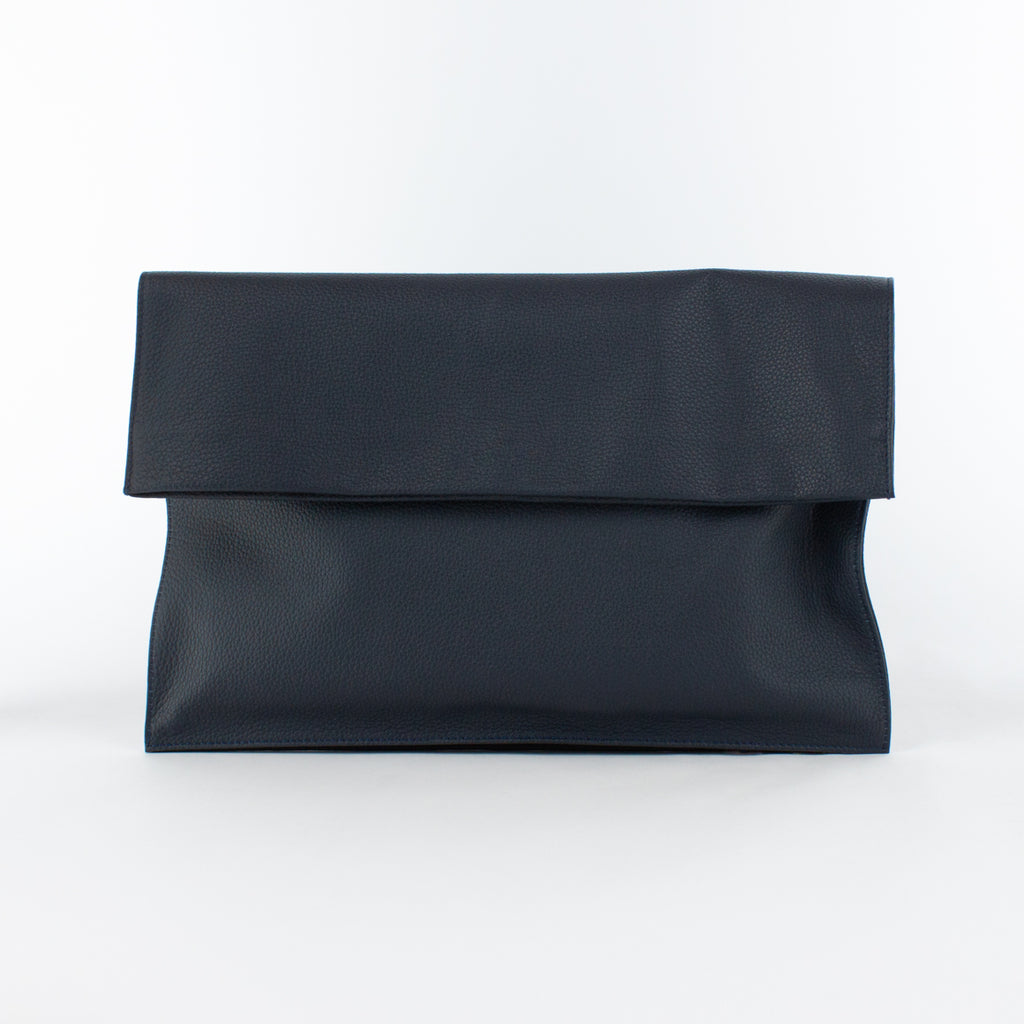 1210 LD FOLDING CLUTCH BAG Col.Navy