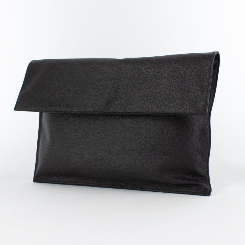 1210 LD FOLDING CLUTCH BAG Col.Marrone