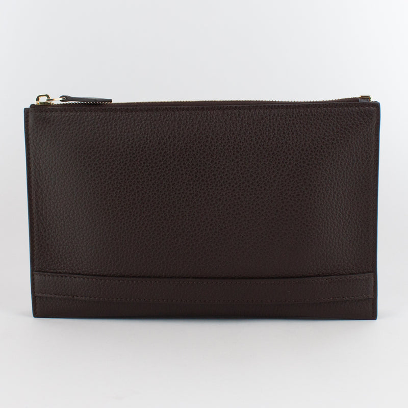 1233 LD 2ROOMS CLUTCH BAG WITH HANDLE Col.T.Moro