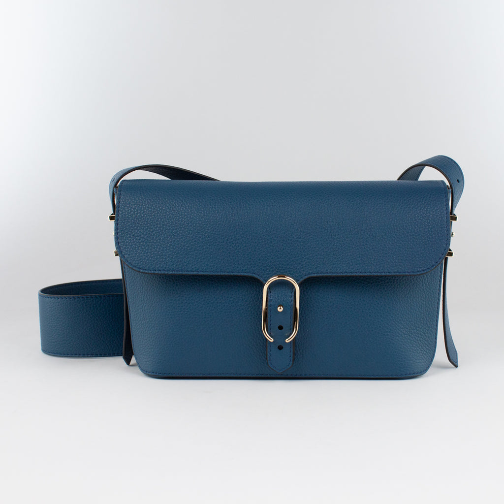 1243 LD SHOULDER BAG Col.Bluegrey