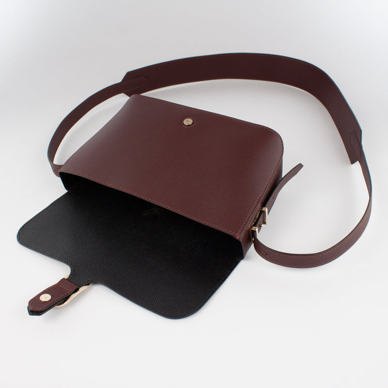 1243 LD SHOULDER BAG Col.Bordeaux