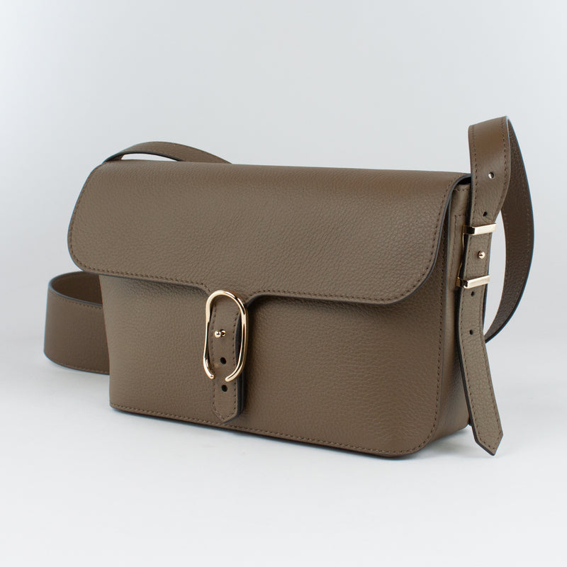 F1183 LD POUCH WITH SHOULDER Col.Grigio