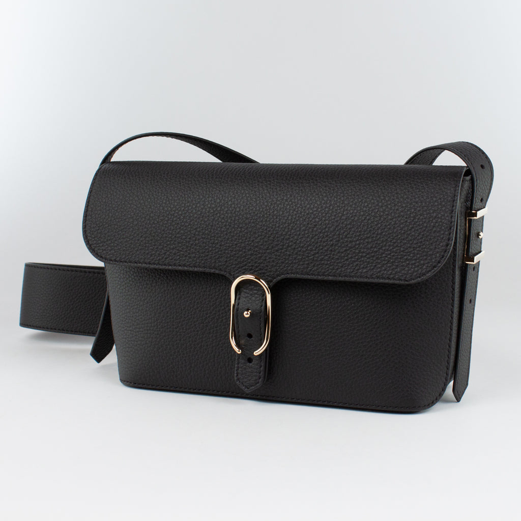 1243 LD SHOULDER BAG Col.Nero