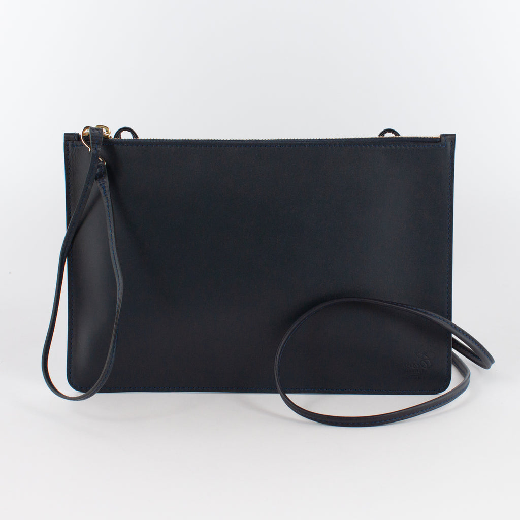 F1181 LM POUCH WITH SHOULDER Col.Navy