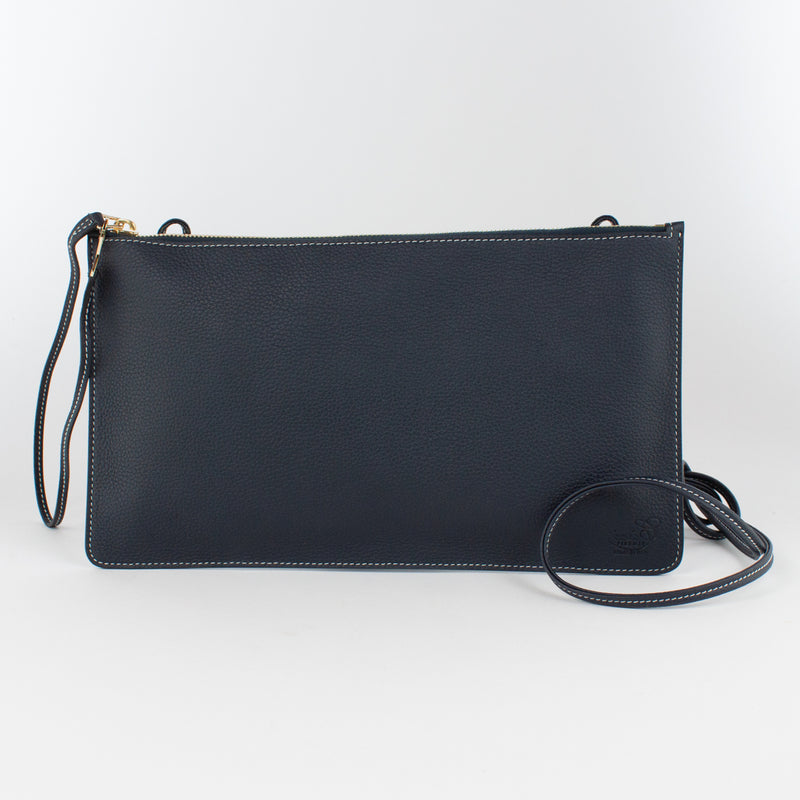 F1183 LD POUCH WITH SHOULDER Col.Navy(W)